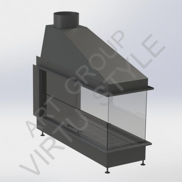 Защитные экраны для каминов - купить из стекла, цены